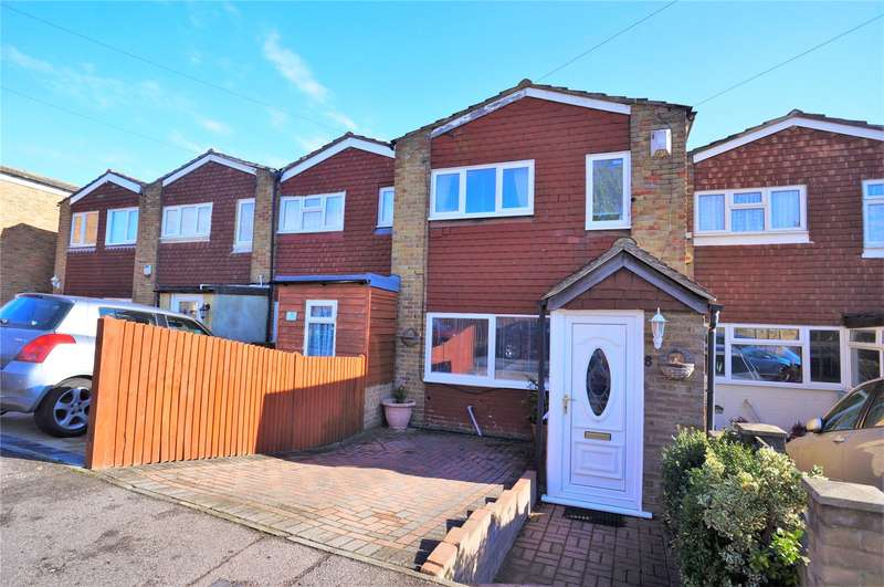 3 Bedrooms Terraced House for sale in Highlands Close, Strood, Kent, ME2