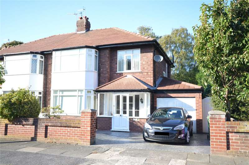 3 Bedrooms Semi Detached House for sale in Glenathol Road, Calderstones, Liverpool, L18