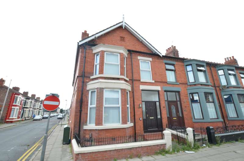 4 Bedrooms End Of Terrace House for sale in Priory Road, Liverpool, Merseyside, L4