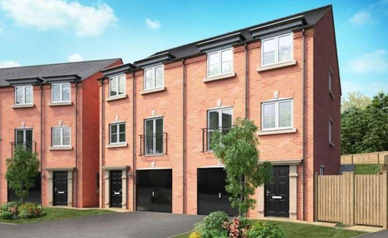 3 Bedrooms Town House for sale in 'The Worsley' at The Forge, Brades Rise, Oldbury, B69