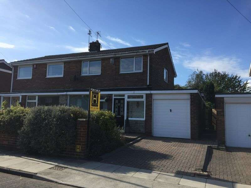 3 Bedrooms Semi Detached House for sale in Ettrick Road, Jarrow