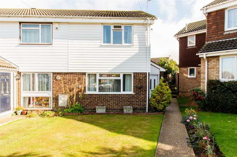 2 Bedrooms End Of Terrace House for sale in Lords Close, Bapchild, Sittingbourne