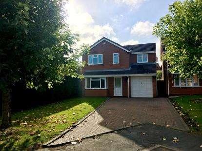 4 Bedrooms Detached House for sale in Wren Avenue, Wolverhampton, West Midlands