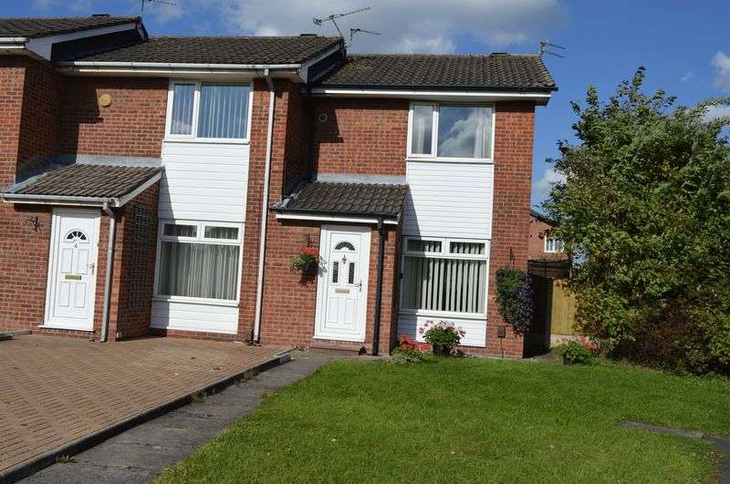 2 Bedrooms Semi Detached House for sale in Sarsfield Avenue, Lowton, Warrington WA3 2JJ