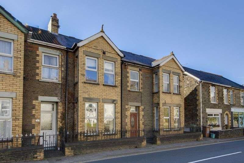 4 Bedrooms Semi Detached House for sale in Commercial Road, Caerphilly
