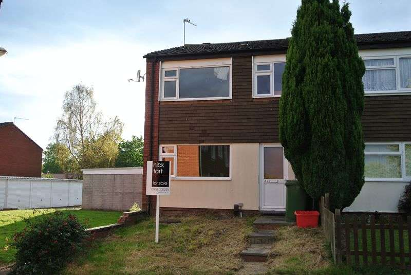 3 Bedrooms Semi Detached House for sale in Matlock Avenue, Dawley, Telford, Shropshire.