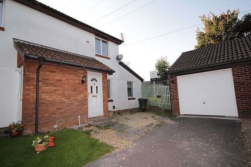 2 Bedrooms Semi Detached House for sale in Buckley Close, Danescourt