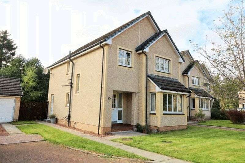4 Bedrooms Detached House for sale in 10,000 BELOW HOME REPORT VALUE - 36 Crossburn Farm Road, Peebles