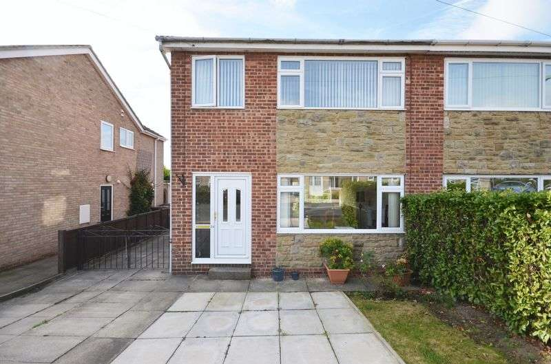 3 Bedrooms Semi Detached House for sale in Mayfield Court, Ossett, WF5 0SG