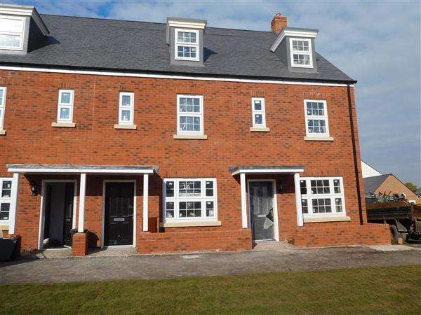 3 Bedrooms Semi Detached House for sale in The Boxgrove, Seabrook Orchard, Topsham