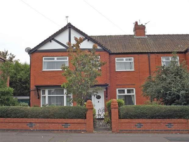 3 Bedrooms Semi Detached House for sale in Grange Park Road, Manchester