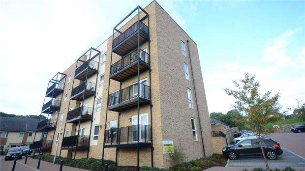 2 Bedrooms Apartment Flat for sale in Osprey House, 109 Tay Road, Reading
