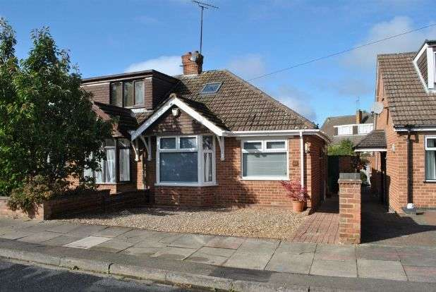 2 Bedrooms Semi Detached Bungalow for sale in Gillsway, Kingsthorpe, Northampton NN2 8HU