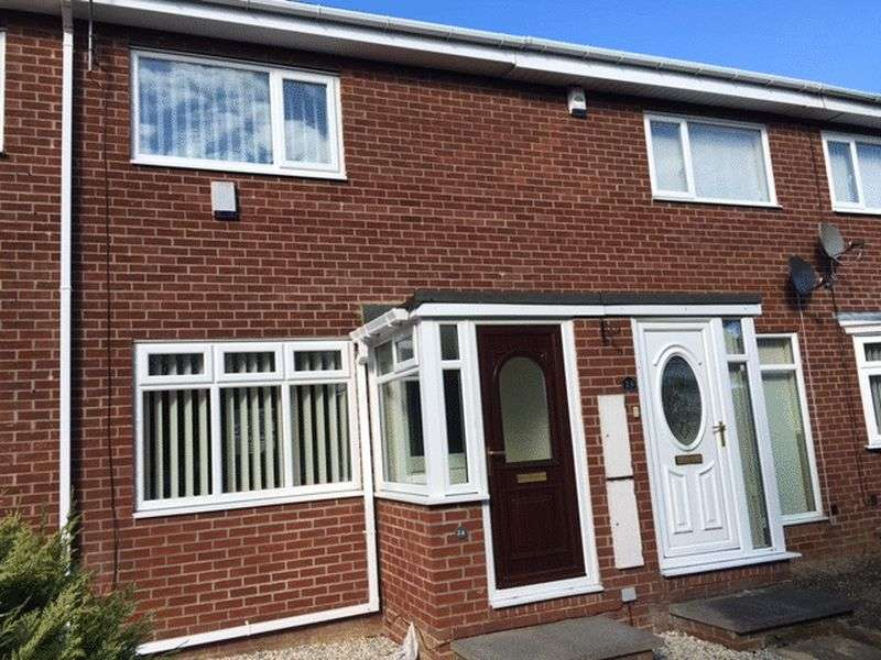 2 Bedrooms Terraced House for sale in Welwyn Close, Wallsend