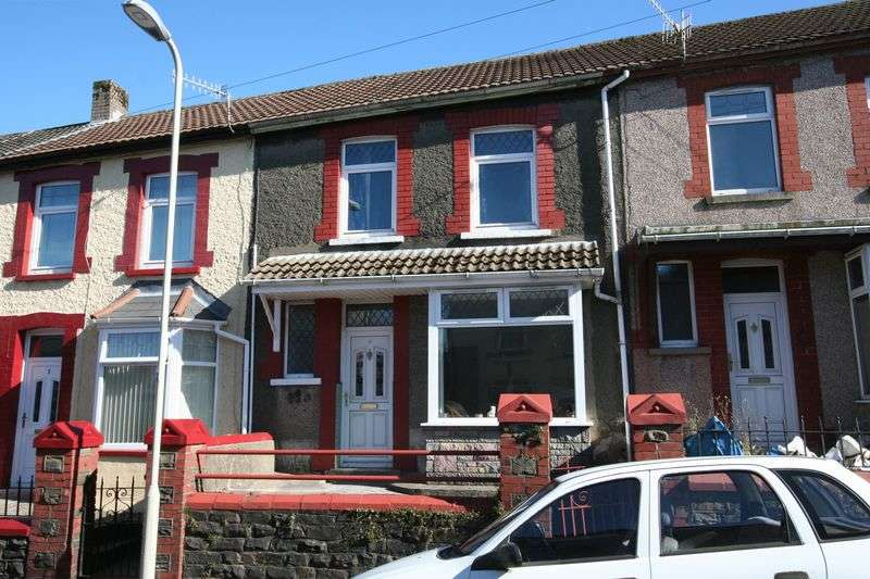 2 Bedrooms Terraced House for sale in Crawshay Road, Tonypandy