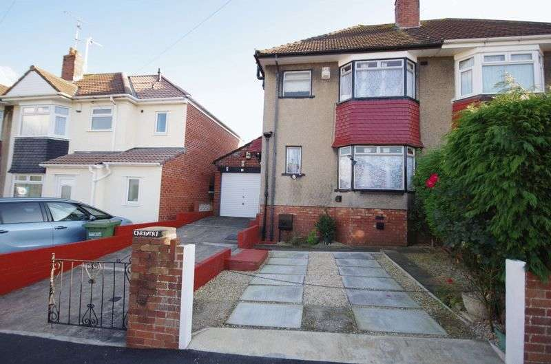 3 Bedrooms Semi Detached House for sale in Mayville Avenue, Filton, Bristol