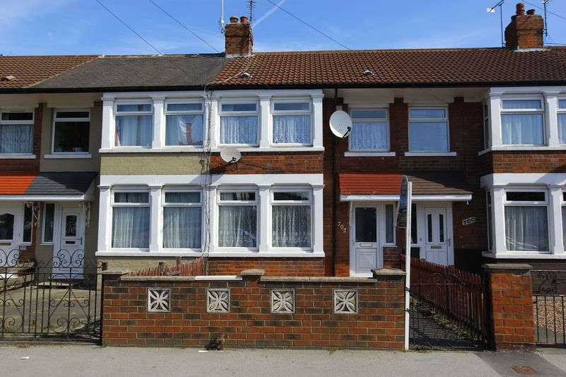 3 Bedrooms Terraced House for sale in Spring Bank West, Hull