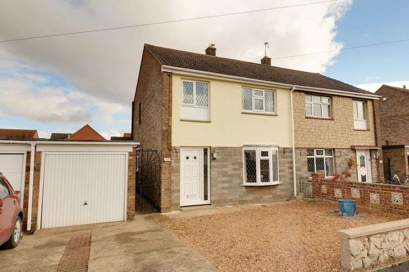3 Bedrooms Semi Detached House for sale in St Albans Close, Hibaldstow
