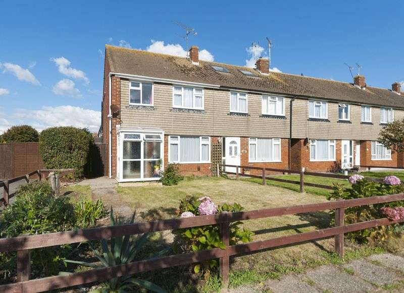 3 Bedrooms Terraced House for sale in Cedar Close, Worthing