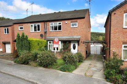 3 Bedrooms Semi Detached House for sale in Rowborn Drive, Oughtibridge, Sheffield