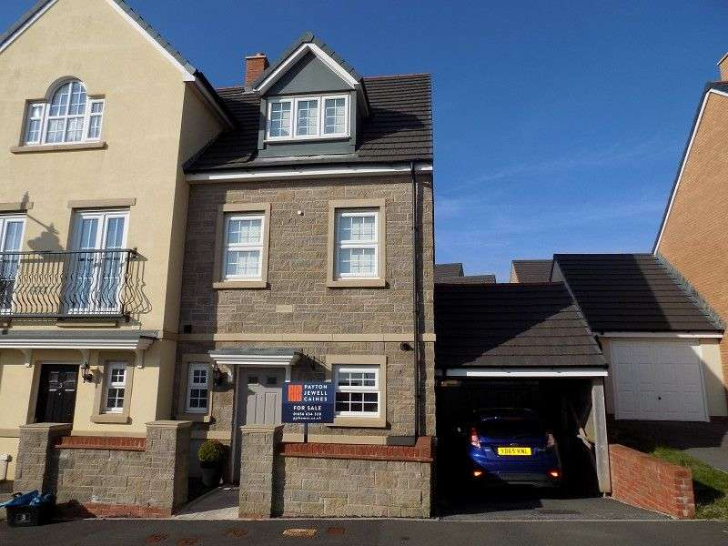 3 Bedrooms End Of Terrace House for sale in Ffordd Y Grug , Coity, Bridgend. CF35 6BQ