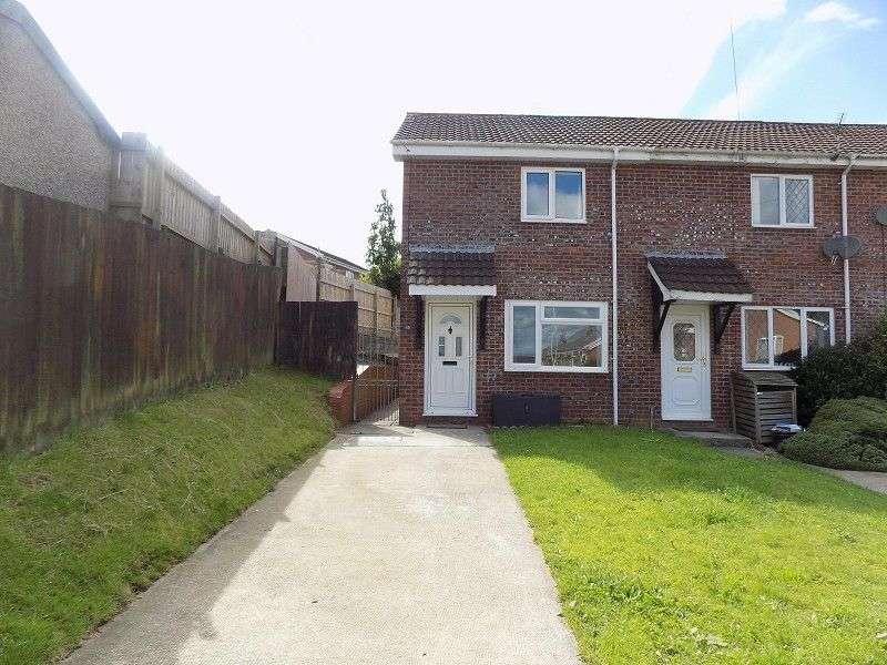 2 Bedrooms End Of Terrace House for sale in Westward Place, Bridgend, Bridgend. CF31 4XA
