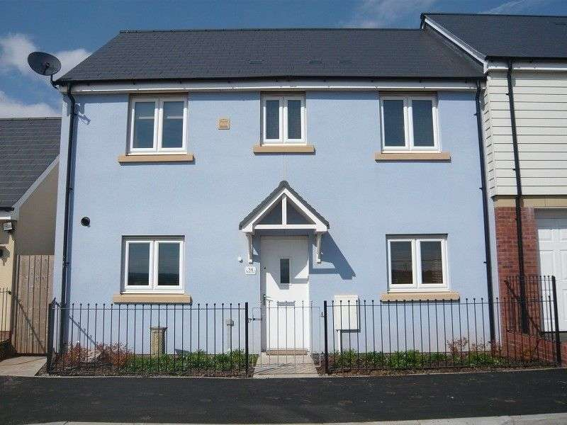 3 Bedrooms End Of Terrace House for sale in Ffordd Y Draen , Coity, Bridgend. CF35 6BF