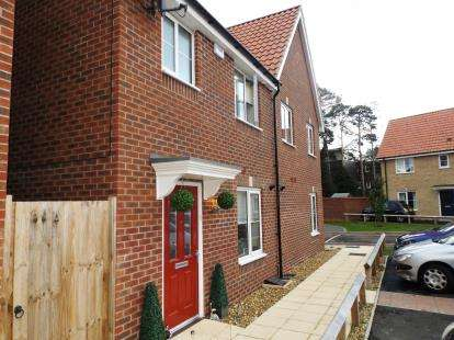 3 Bedrooms Semi Detached House for sale in Carbrooke, Watton, Norfolk