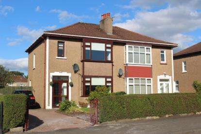 3 Bedrooms Semi Detached House for sale in Kenmure Avenue, Bishopbriggs