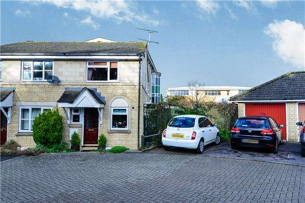 2 Bedrooms Semi Detached House for sale in Cardinal Close, BATH, Somerset, BA2 2AE