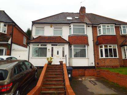 5 Bedrooms Semi Detached House for sale in Colebourne Road, Birmingham, West Midlands
