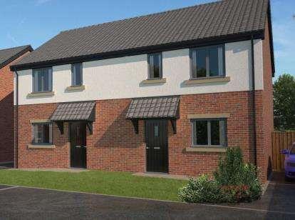 3 Bedrooms Semi Detached House for sale in Taylors Lane, Pilling, Lancashire, PR3