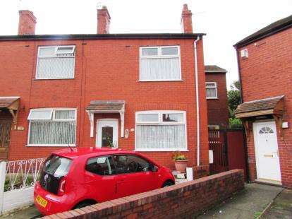 3 Bedrooms End Of Terrace House for sale in Tom Shepley Street, Hyde, Cheshire, .