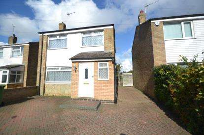 3 Bedrooms Detached House for sale in Abbey Close, Bozeat, Wellingborough, Northamptonshire