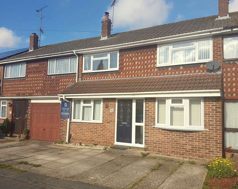 4 Bedrooms Terraced House for sale in Hillary Road, Basingstoke