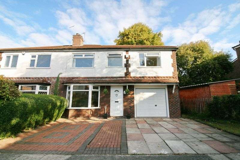 4 Bedrooms Semi Detached House for sale in Ewhurst Avenue, South Swinton Manchester
