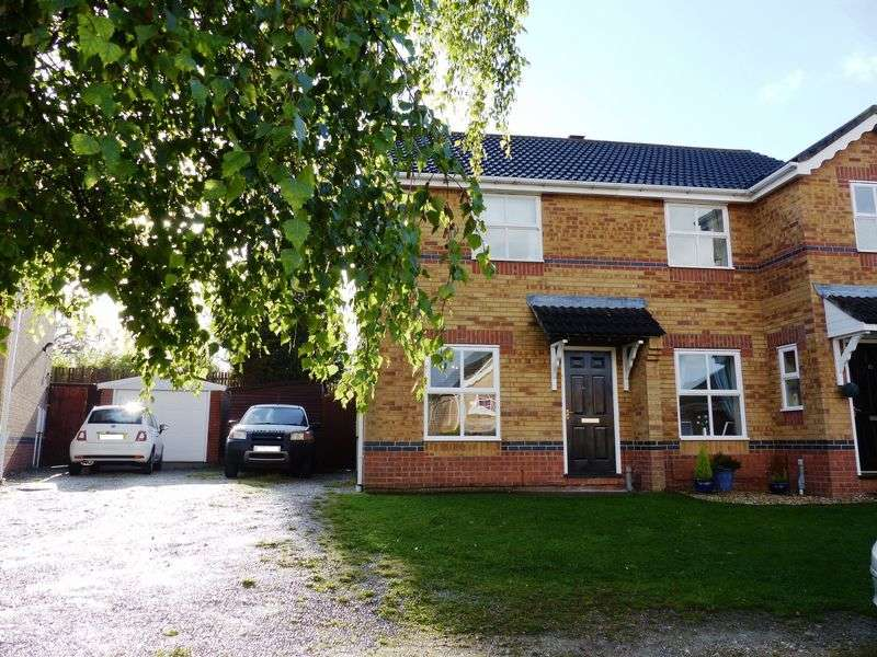 2 Bedrooms Semi Detached House for sale in Curtis Drive, Heighington