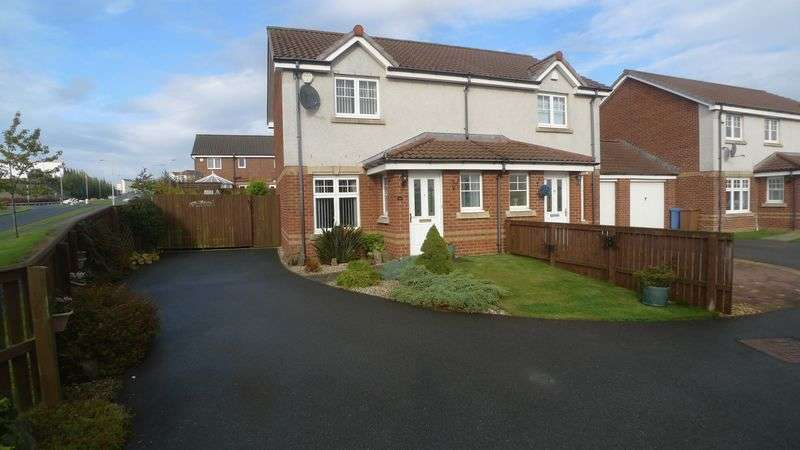 2 Bedrooms Semi Detached House for sale in Hutchison Way, Kirkcaldy