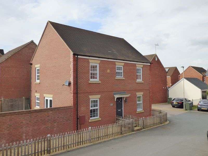 4 Bedrooms Detached House for sale in Lakenheath Kingsway, Gloucester