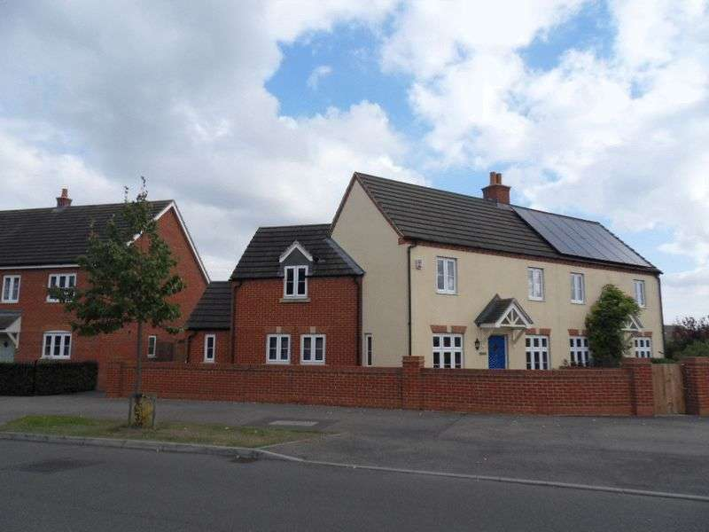 4 Bedrooms Semi Detached House for sale in Woodlands Park, Bedford