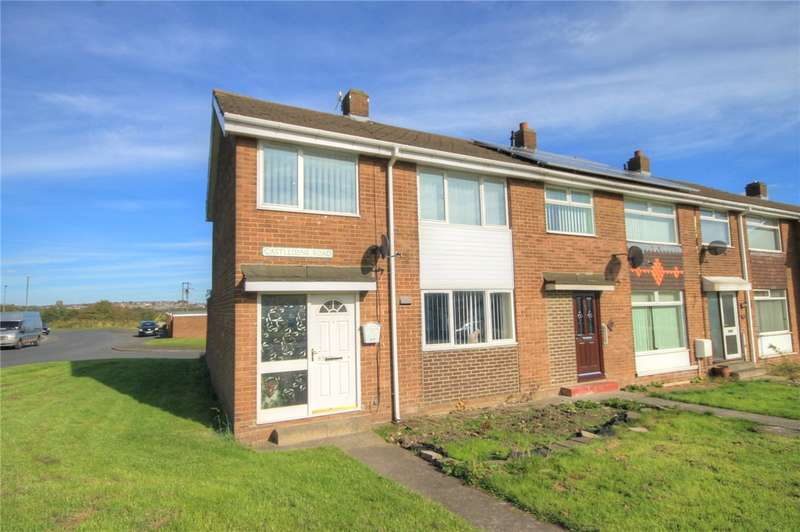 3 Bedrooms End Of Terrace House for sale in Castledene Road, Delves Lane, Consett, DH8