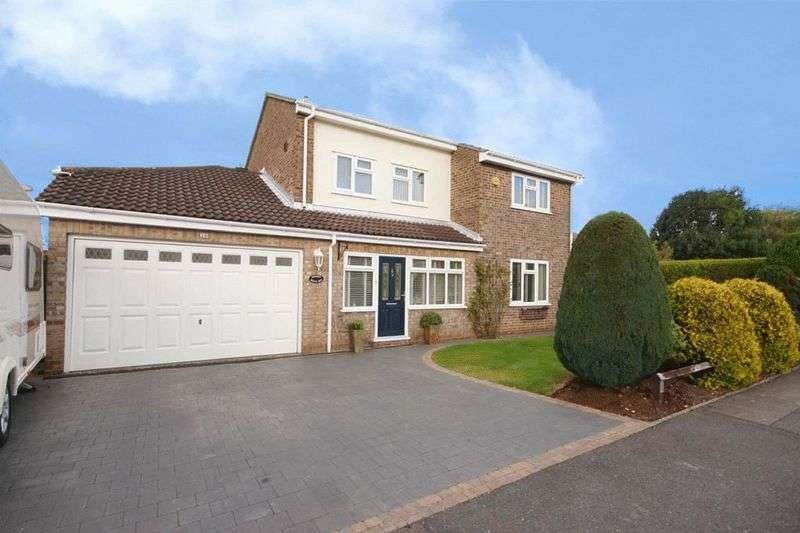 4 Bedrooms Detached House for sale in 30 Kent Avenue, North Yate, Bristol BS37 7RY
