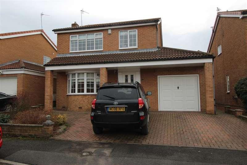4 Bedrooms Detached House for sale in York Close, Westwood Grange, Cramlington