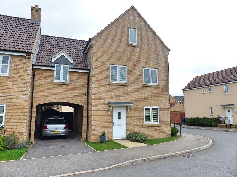 4 Bedrooms Detached House for sale in Shackleton Way, Yaxley, Peterborough, PE7 3AB