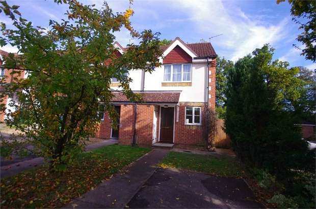 2 Bedrooms End Of Terrace House for sale in Gisburne Way, WATFORD, Hertfordshire