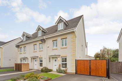 3 Bedrooms End Of Terrace House for sale in Hawthorn Avenue, Cambuslang, Glasgow, South Lanarkshire