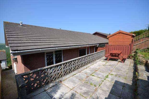 2 Bedrooms Semi Detached Bungalow for sale in Tregarrick, The Downs, West Looe, Cornwall