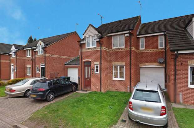 3 Bedrooms Town House for sale in John Shelton Drive, Coventry, West Midlands, CV6 4PE