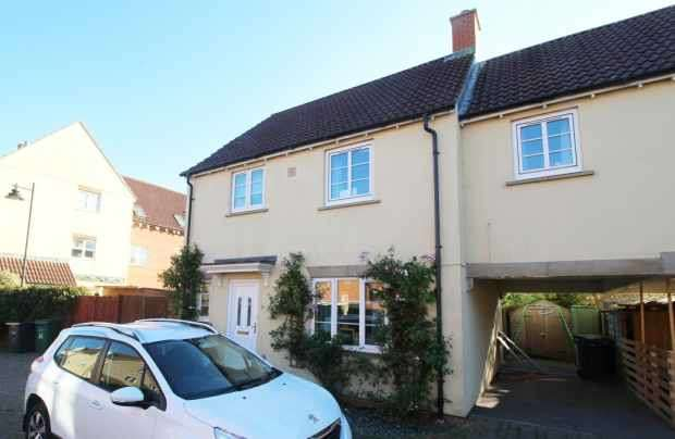 3 Bedrooms Semi Detached House for sale in Barbel Close, Calne, Wiltshire, SN11 9QP