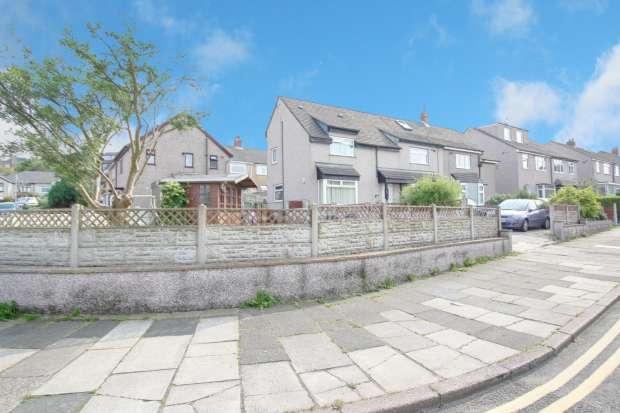3 Bedrooms Semi Detached House for sale in Bowerham Road, Lancaster, Lancashire, LA1 4JP